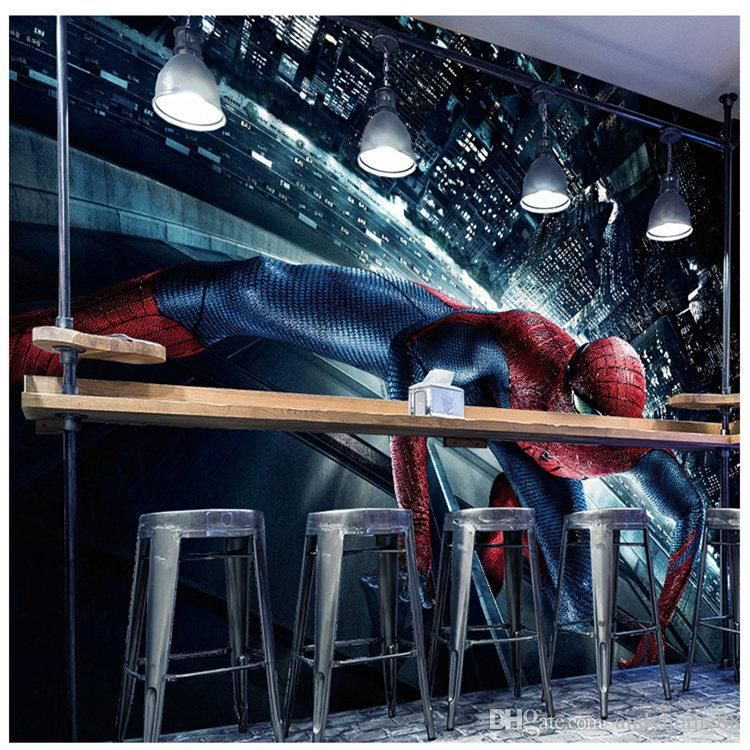 Best 3D Marvel Movie Avengers Mural Spiderman 5D Wallpapers 400 x 300