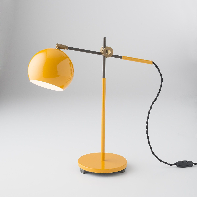 Studio Desk Lamp Industrial Yellow Modernhomedecorgeometric Rohrleuchte Diy Lampen Lampe Esstisch