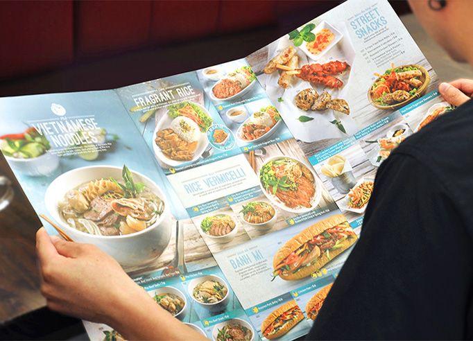 Art Of The Menu Pho Street Food Menu Design Cafe Menu Design Menu Design Inspiration