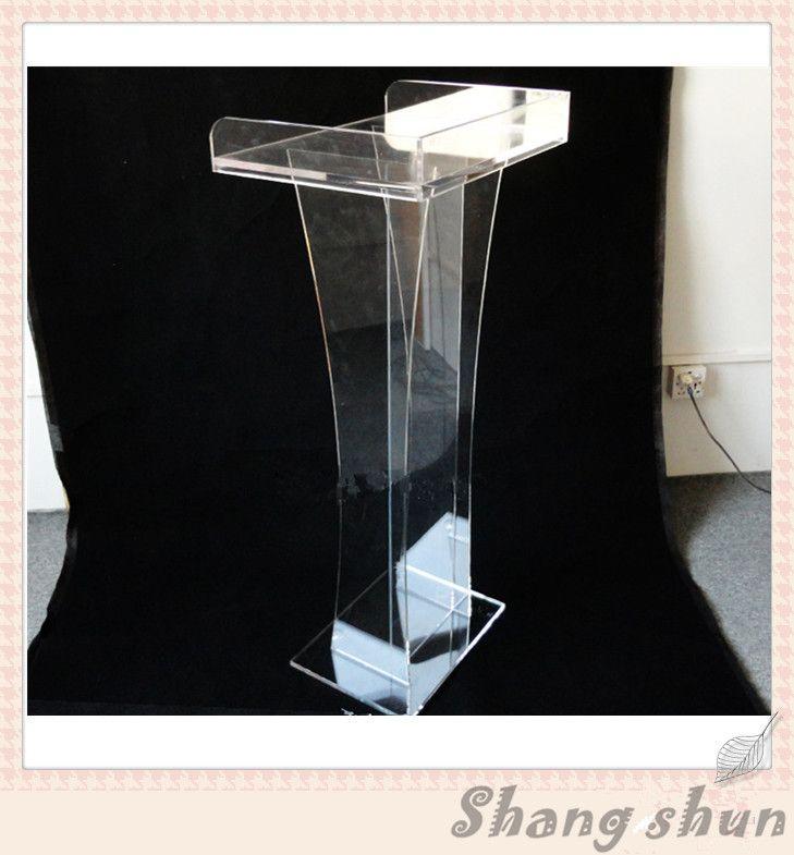 Acrylic Stand Designs : Plexiglass desktop lectern acrylic table top