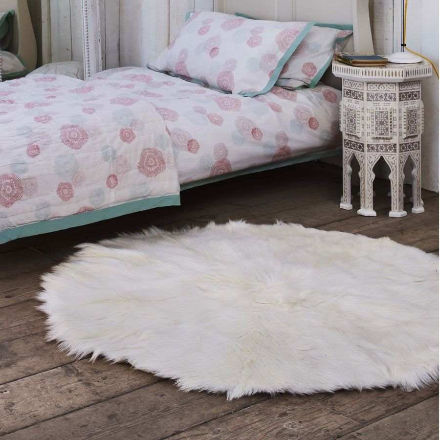 I would love to have a goat skin rug one day! So soft and durable, and each one is unique. Love, love!