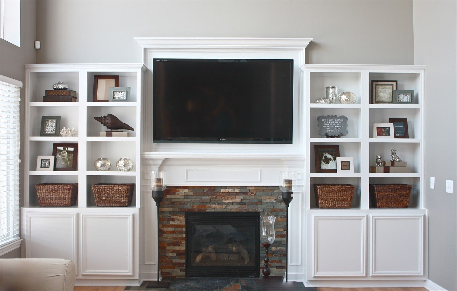 built in entertainment center with fireplace. Entertainment Center, Something Like This Would Be Good Minus The Fireplace Under Tv Built In Center With