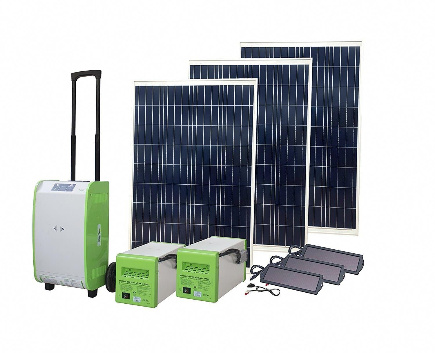 Top 7 Best Solar Generator Kit In 2020 Purchasing Guide For Buyers Hqreview Solar Energy Panels Portable Solar Generator Solar Energy