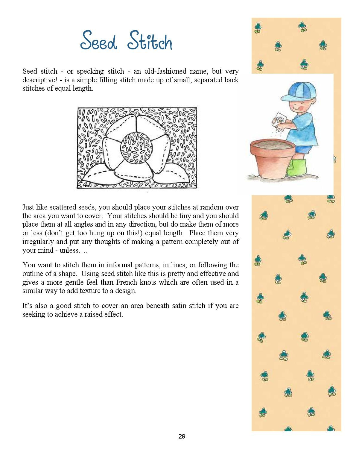 Simple stitchery a little embroidery primer primer embroidery