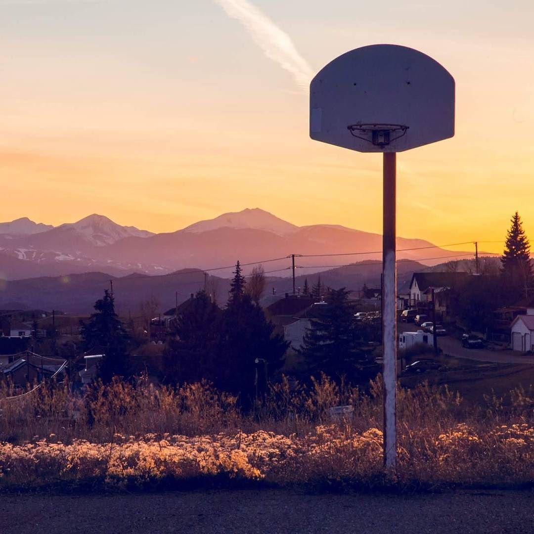 Having a blast lookin for basketball hoops around town. #rethinkbutte #montanamoment