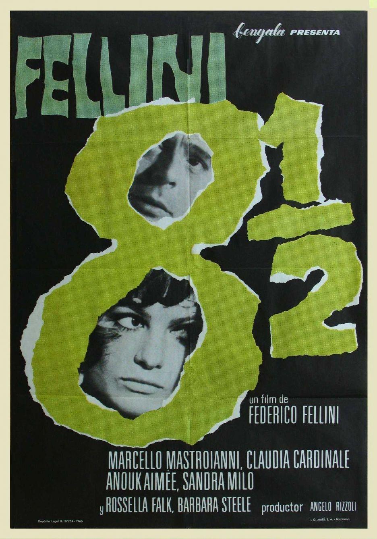 8 Federico Fellini 1963