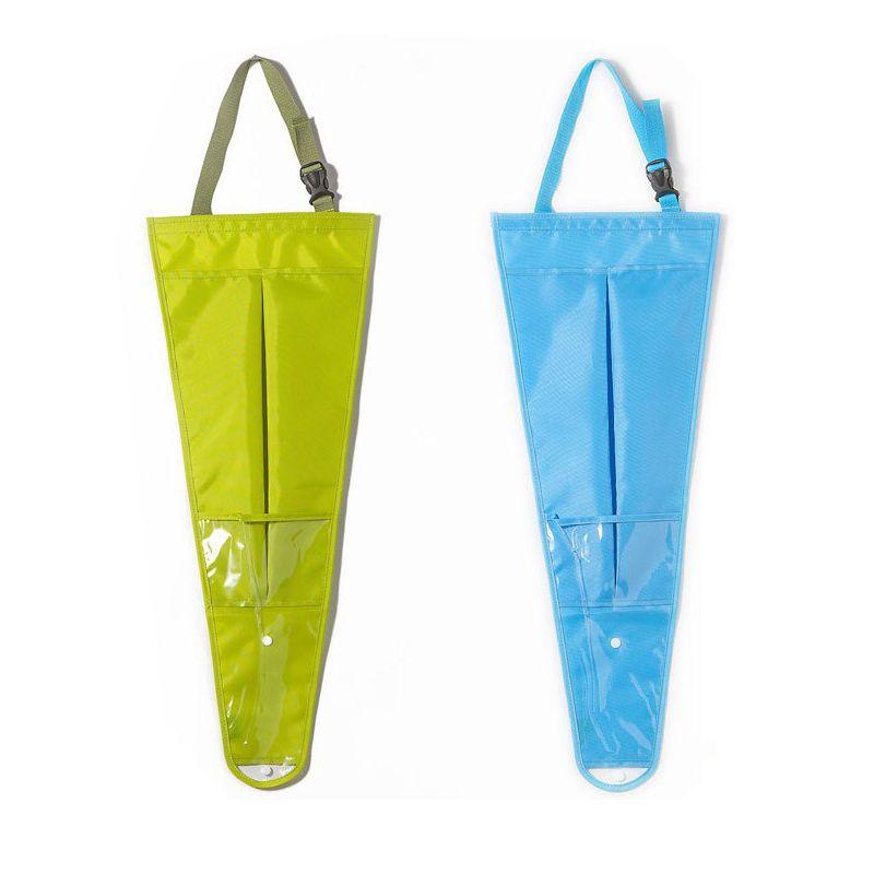 New Auto Car Seat Back Umbrella Storage Bags Holder Cover Organiser Hanging Bag Organizer E2ping