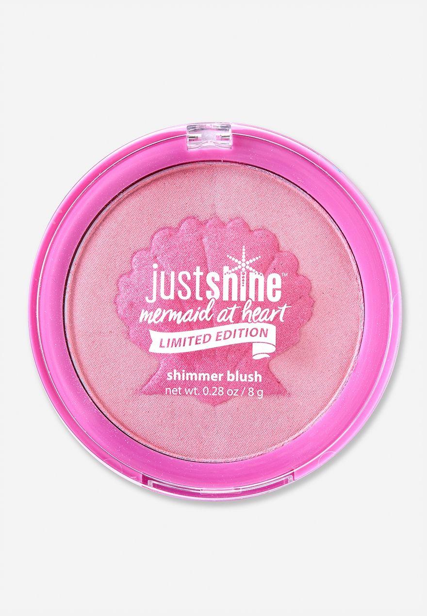 Just Shine Limited Edition Shimmer Blush Kids Makeup Justice Makeup Unicorn Makeup