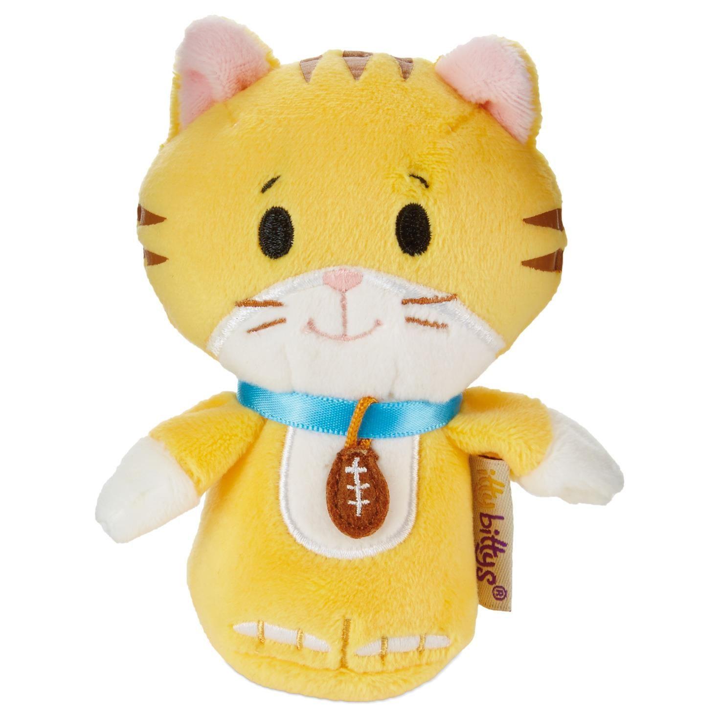 Itty Bittys Kitten Bowl Peanut Stuffed Animal Cats Kittens Cute Cats White Tabby Cat