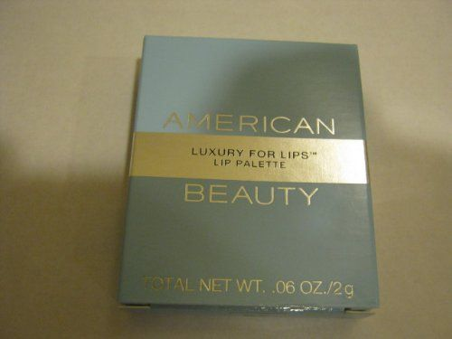 American Beauty ~ Luxury For Lips - Lip Palette - Color - 04 Golden Violet/06 Napa Berry - http://buyonlinemakeup.com/american-beauty/american-beauty-luxury-for-lips-lip-palette-color