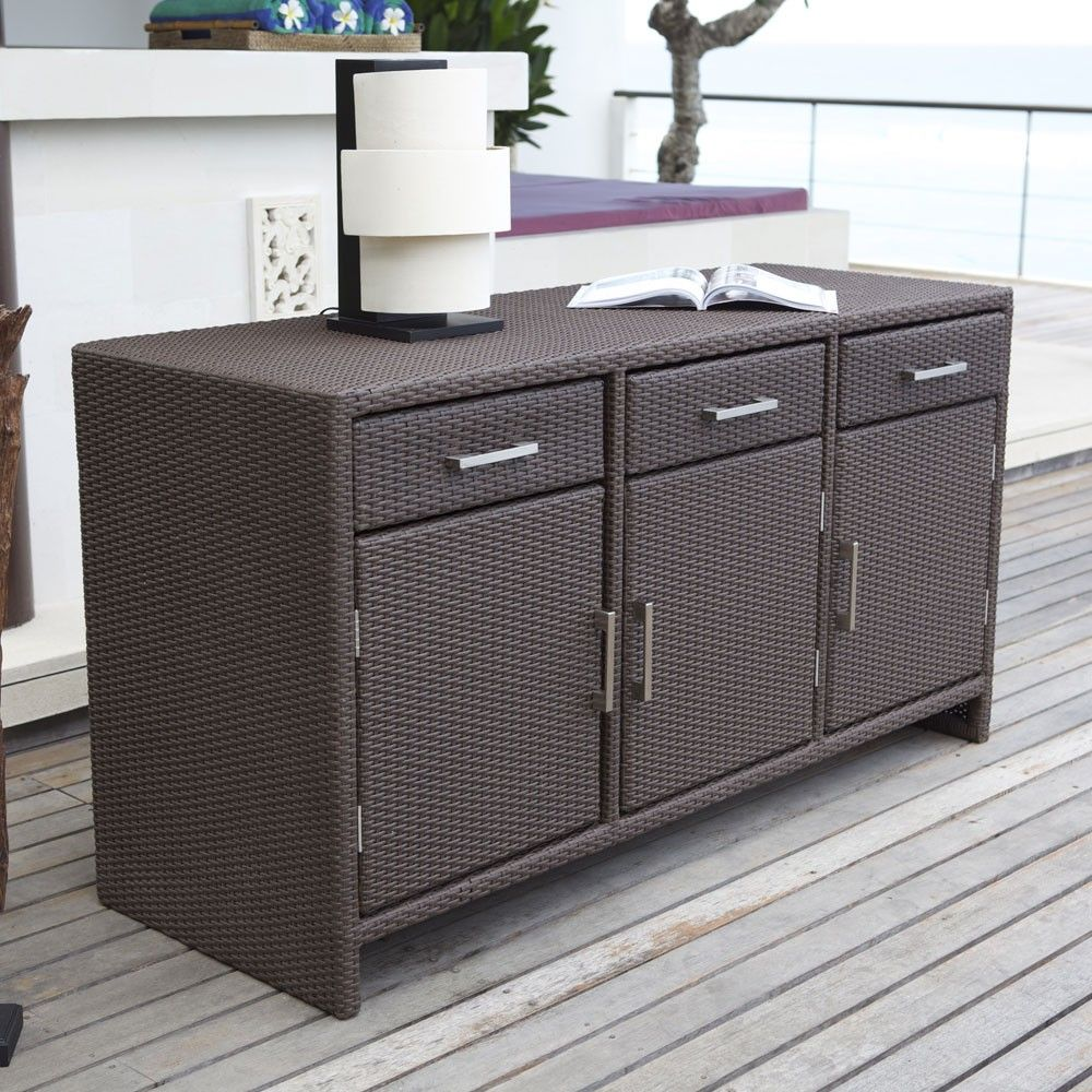 Stylish Indoor Outdoor Sideboard Ideal For Those Brilliant