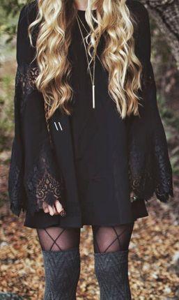 For Love & Lemons Festival Dress in Black from Revolve.com