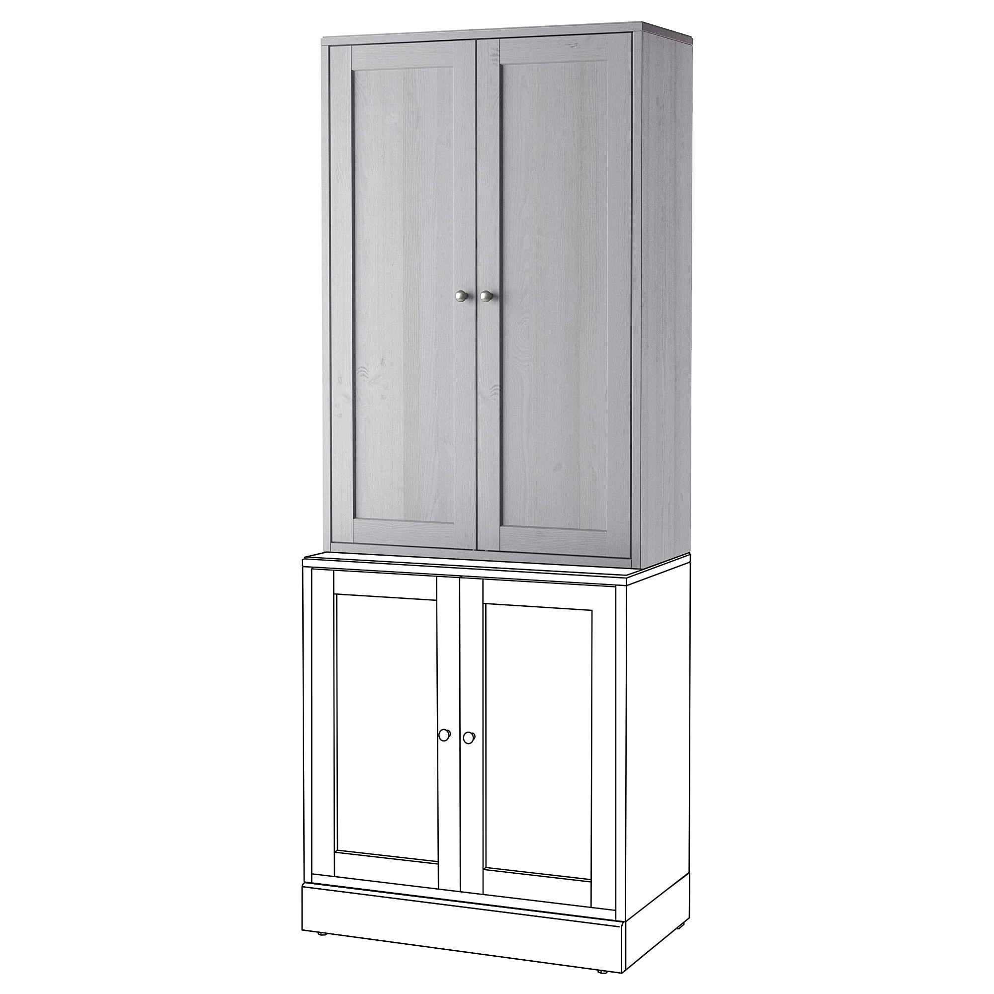ikea havsta cabinet gray bookshelves tall cabinet storage rh pinterest com