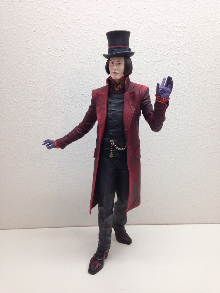rare large neca charlie and the chocolate factory willy wonka  rare large 18 neca charlie and the chocolate factory willy wonka action figure neca