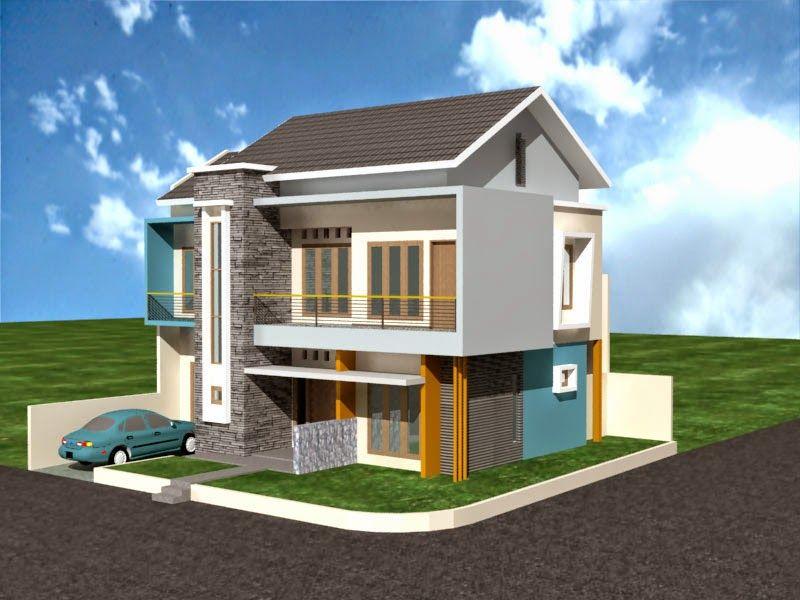 Rumah Minimalis 2 Lantai Type 36 Pojok yang Nyaman | Rumah ...