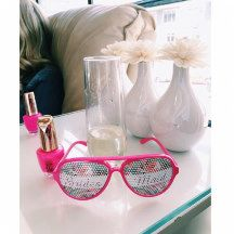 """Brides Maid Cool & Cute Hot Pink Chic Wedding Gift Sunglasses """"Will You Be My Bridesmaid?""""  #wedding"""