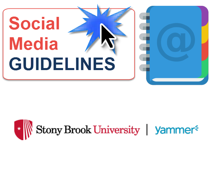 View the Yammer usage guidelines for Stony Brook University.