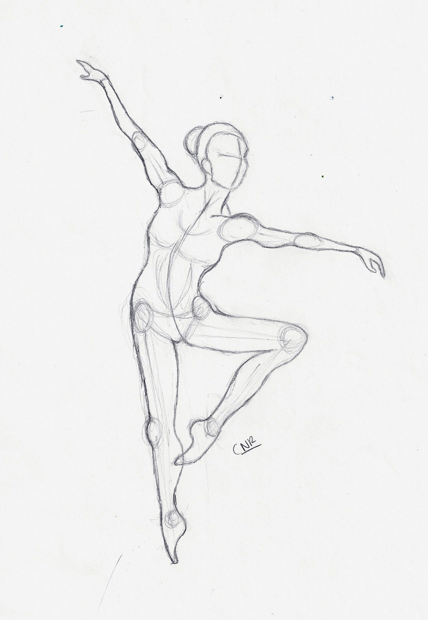 anatomy dancer :) | Drawing by Raghda | Pinterest | Anatomy, Dancers ...