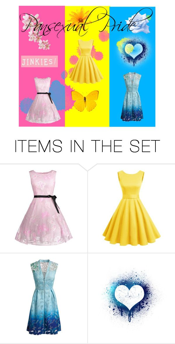 """""""Pansexual Pride"""" by littlebabybambi17 ❤ liked on Polyvore featuring art"""