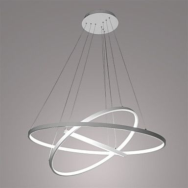 90W Zeitgenössisch LED Metall Pendelleuchten Wohnzimmer - design deckenleuchten wohnzimmer