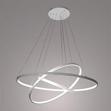 3-Licht Kreisförmig Pendelleuchten Raumbeleuchtung - LED, 110-120V ...