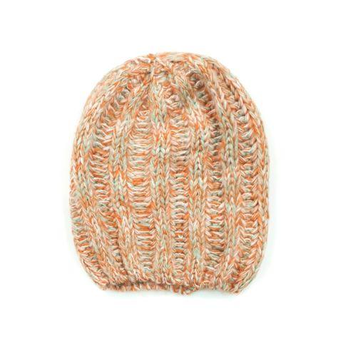 Czapka Zimowa Pomaranczowa Melanz Knitted Hats Knitting Hats