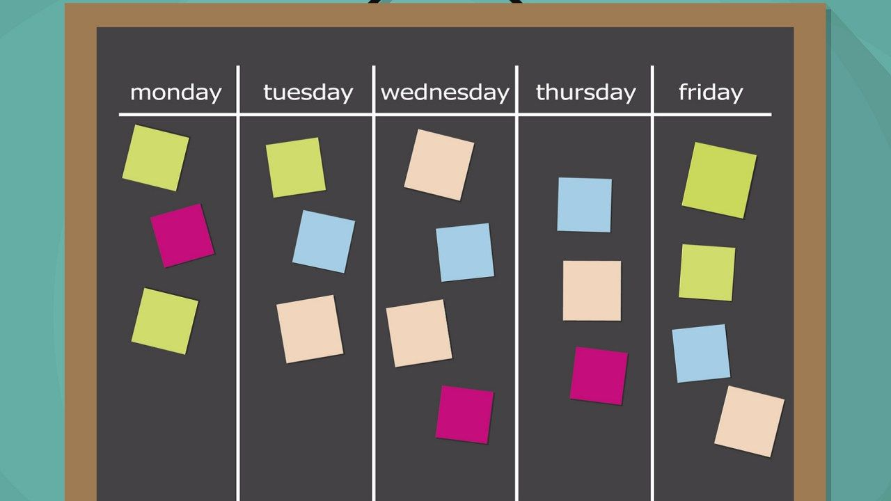 Link Between Adhd Academic Expectations >> This Sample Schedule May Just Save Your Sanity Helpful