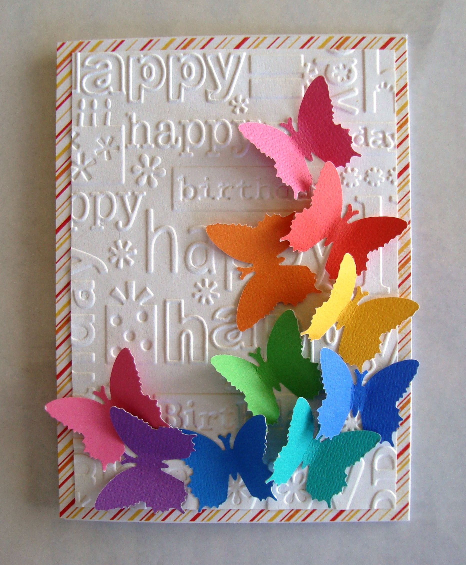 Pin By Jane Foster On My Cards And Creations Butterfly Birthday Cards Happy Birthday Cards Greeting Cards Handmade