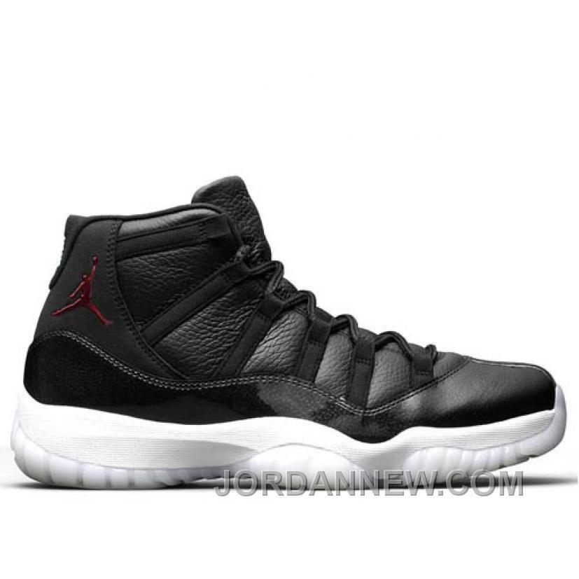 61865fa9f724 Men s Air Jordan 11 Retro 72-10 Black Gym Red-White-Anthracite Christmas  Deals