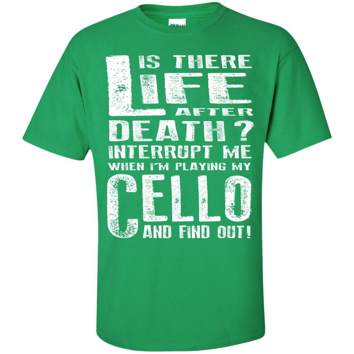 Don't Interrupt Me - Cello Kids T-Shirt