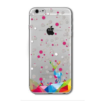 Iphone 7 back cover lovely cartoon animals Dog Tree TPU Cases for iphone