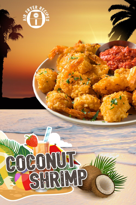Island Getaway Coconut Shrimp in Air Fryer Recipe