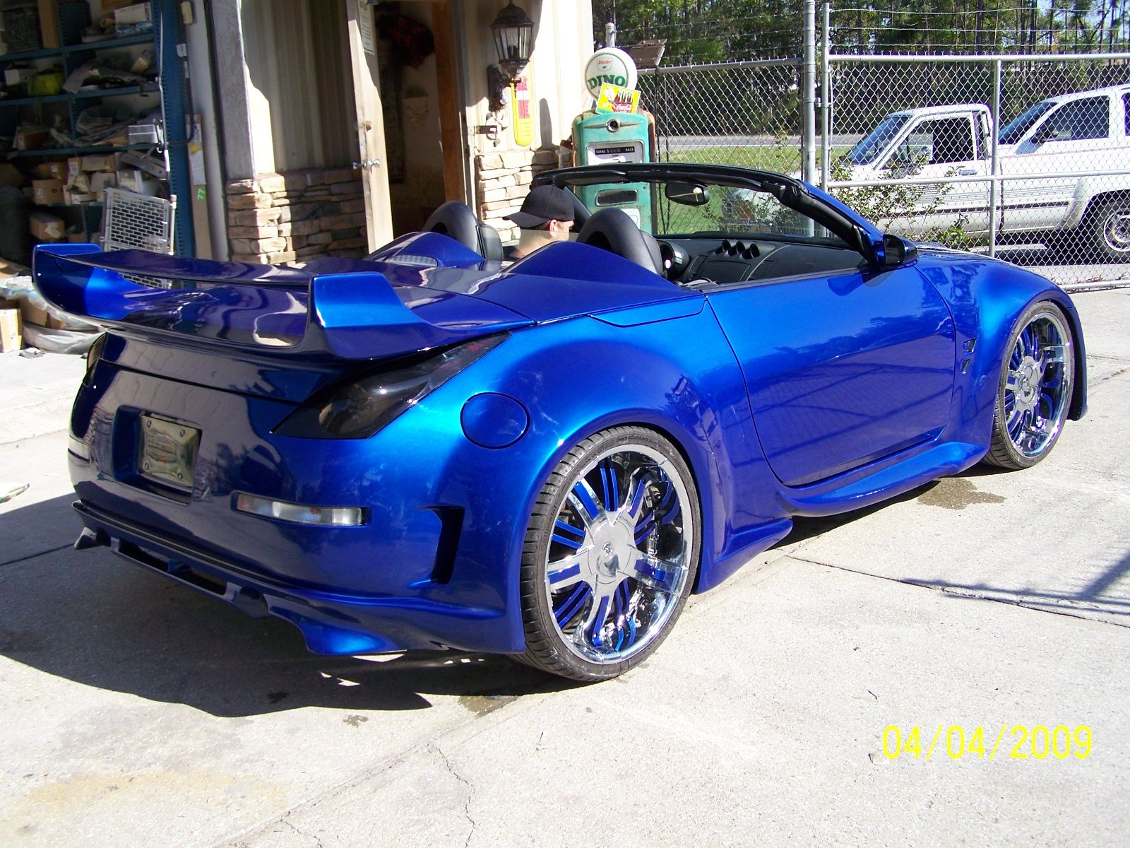 Z Car With A Wide Body Kit Painted House Of Kolors Oriental Blue Kbc