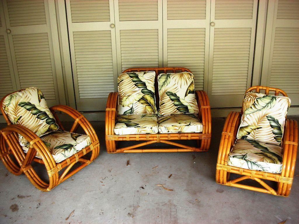 Awesome Vintage Bamboo Furniture Has Eco Friendly Quality Finishes Interior Design Ideas Apansoteloinfo