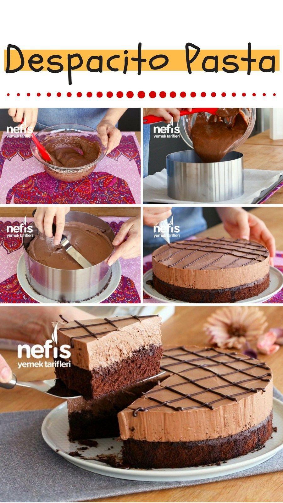 Çikolatalı Mousse Pasta Tarifi Videosu