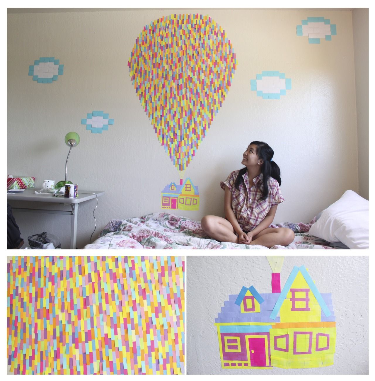Murales Para Dormitorio Up Bedroom Mural Yo Quiero Esto Diy Disney Dorm