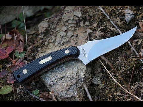 Legendary Old Timer 152OT Sharpfinger Knife -- Best Hunting/Survival Fixed Blade Knife