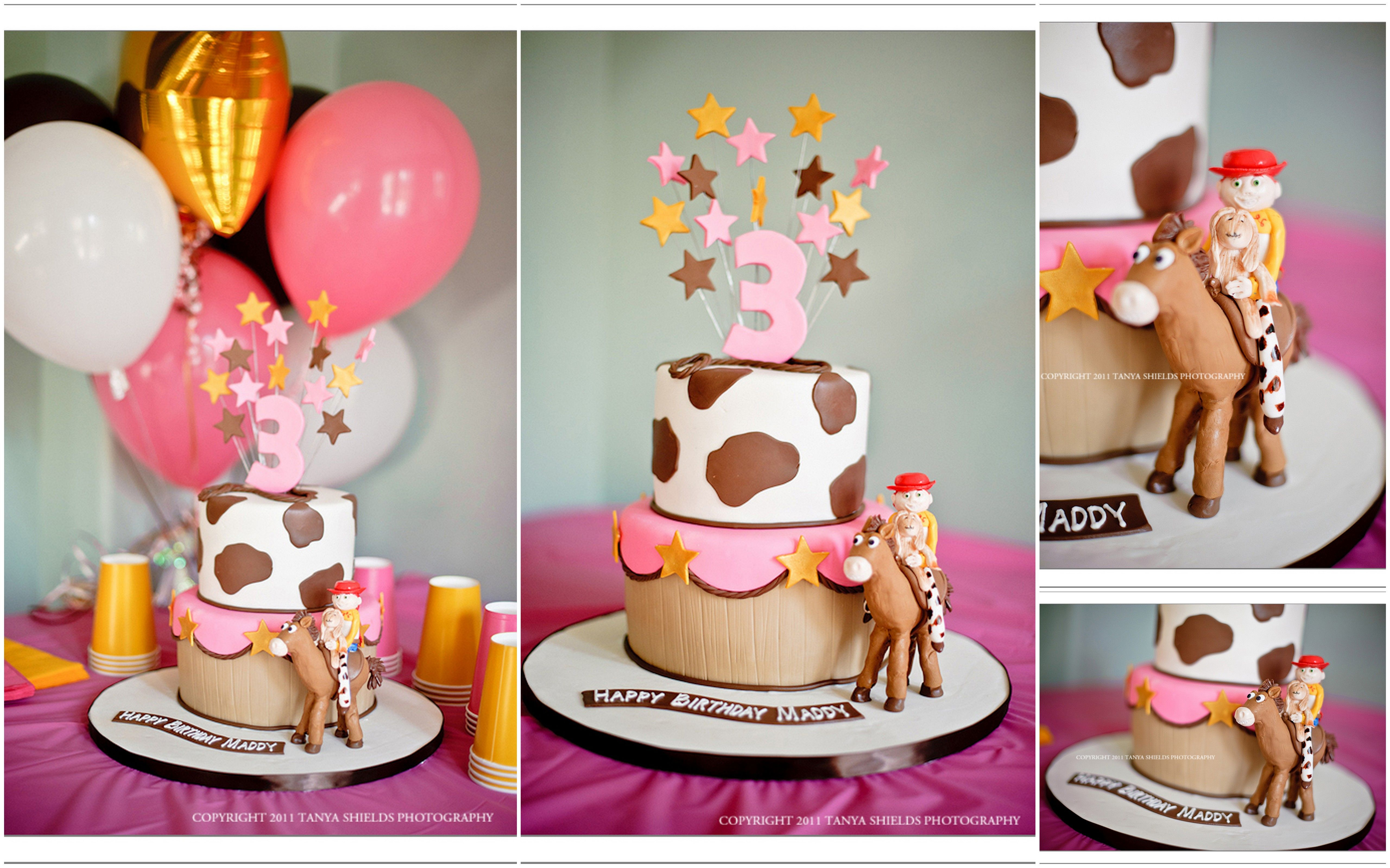 Toy Story Cake Girl Style Tortas