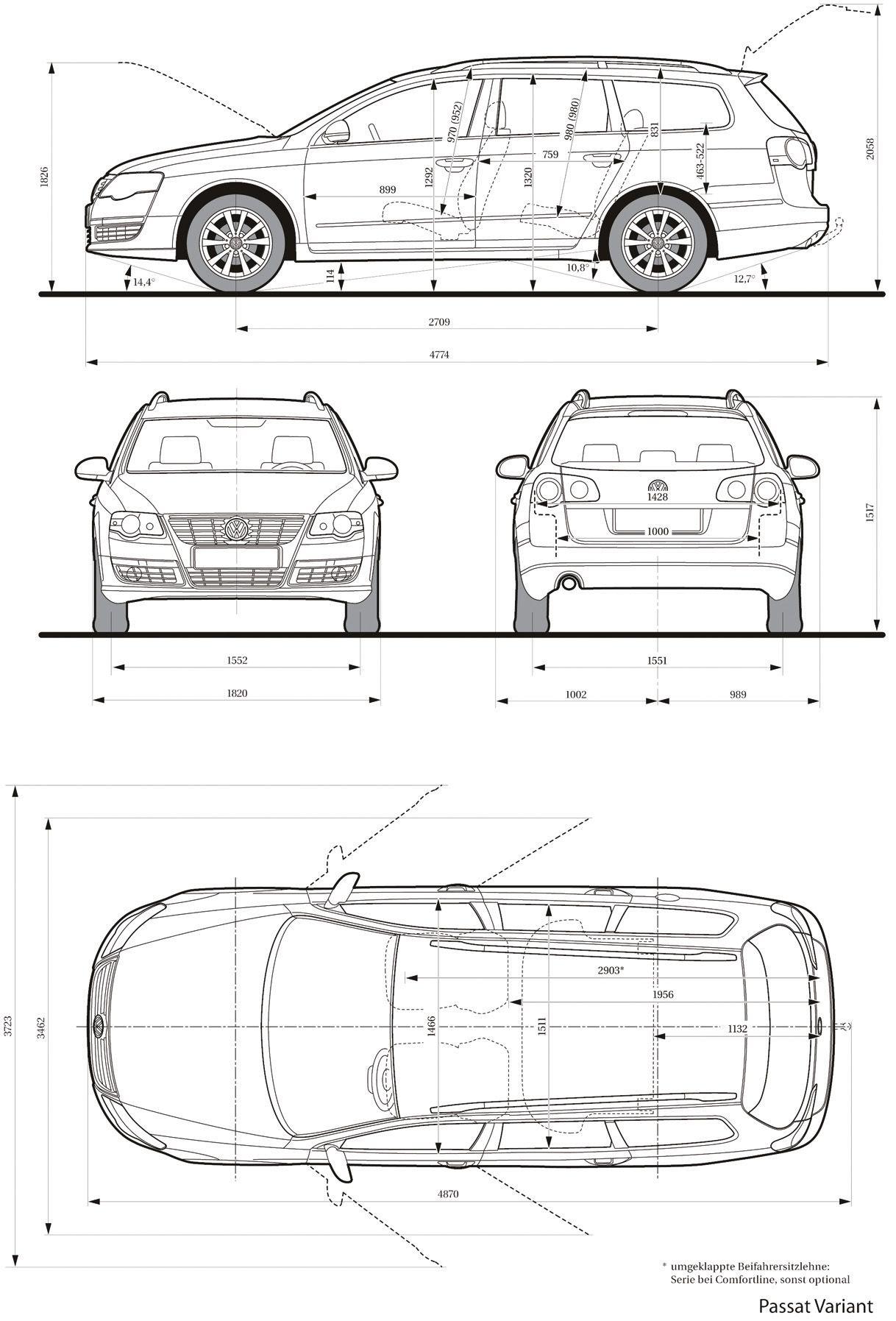 volkswagen passat variant 2005
