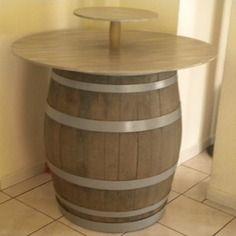 table tonneau mange debout d co pinterest mange debout tonneaux et manger. Black Bedroom Furniture Sets. Home Design Ideas