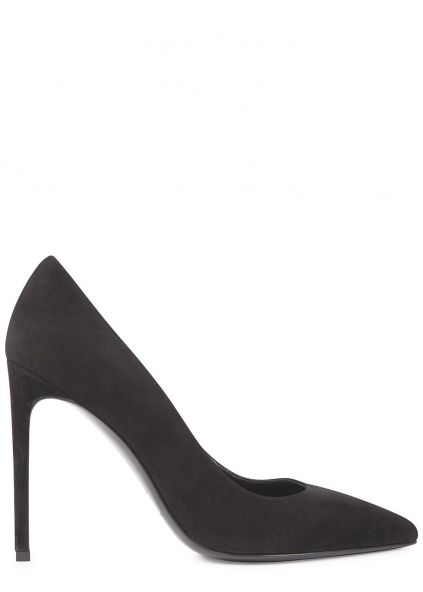 The black suede court shoe is a must-have in any wardrobe and this pair from Saint Laurent are truly stunning. They can be worn for work day-in-day-out and for a fabulous night out.