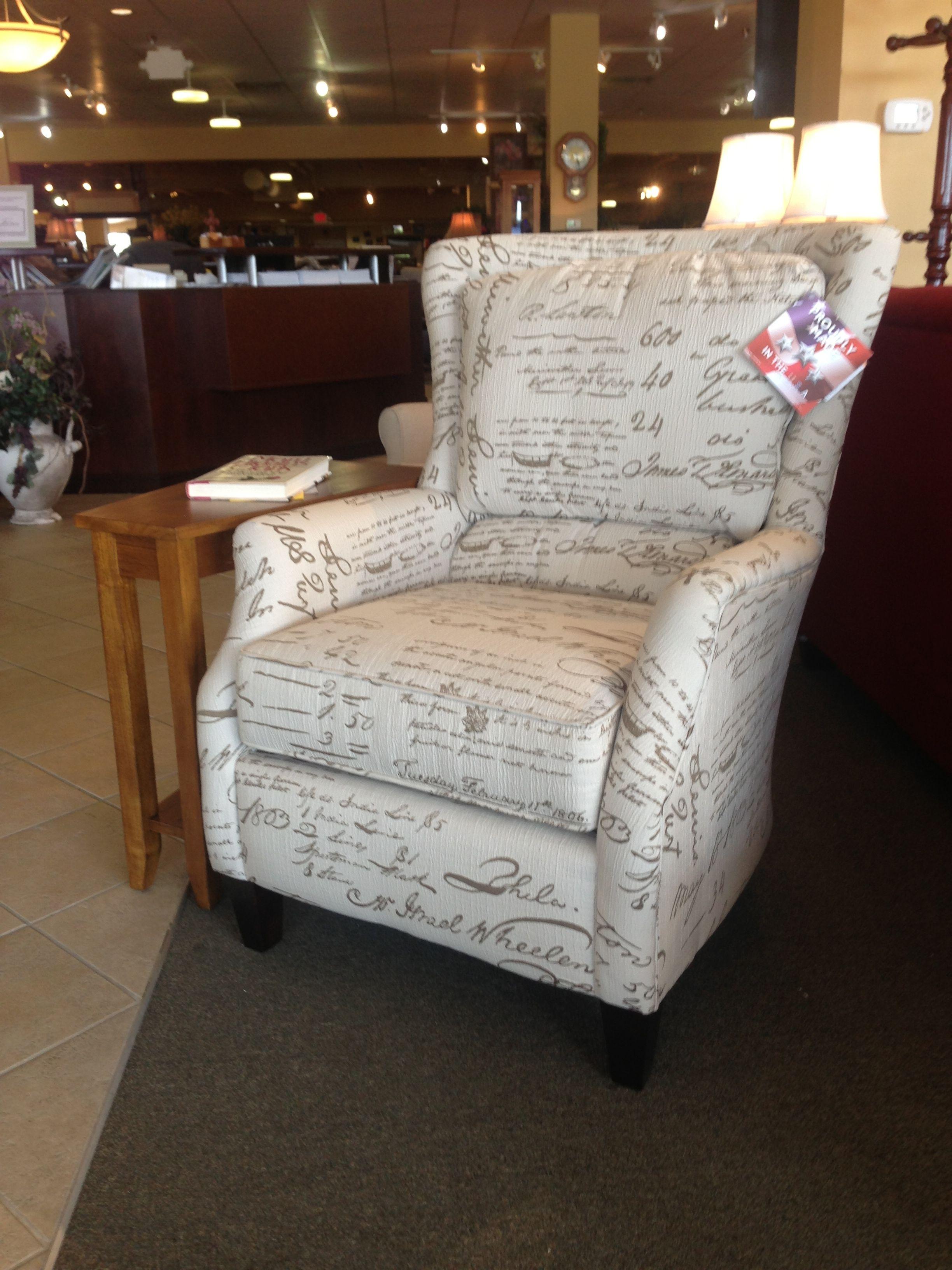 Loren Chair Tapered Wood Leg Plush Back And Stylish Cutaway