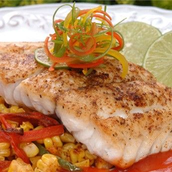 This recipe is healthy hearty and full of flavor grouper for Grouper fish recipes