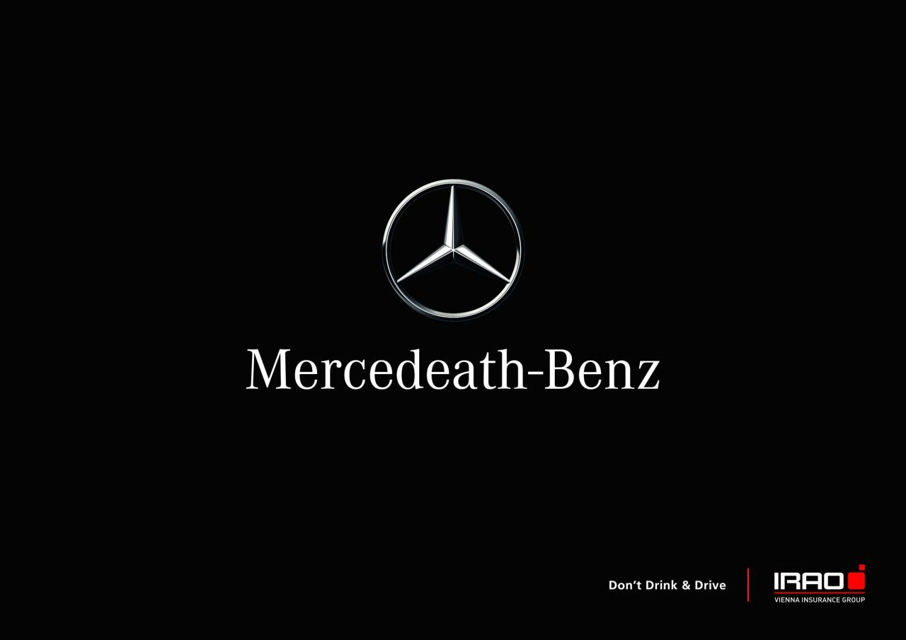Creative Criminals Inspire Creativity Voiture Publicite Mercedes