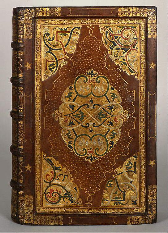 What beautiful gold work must have taken months and cost for Beautiful binding