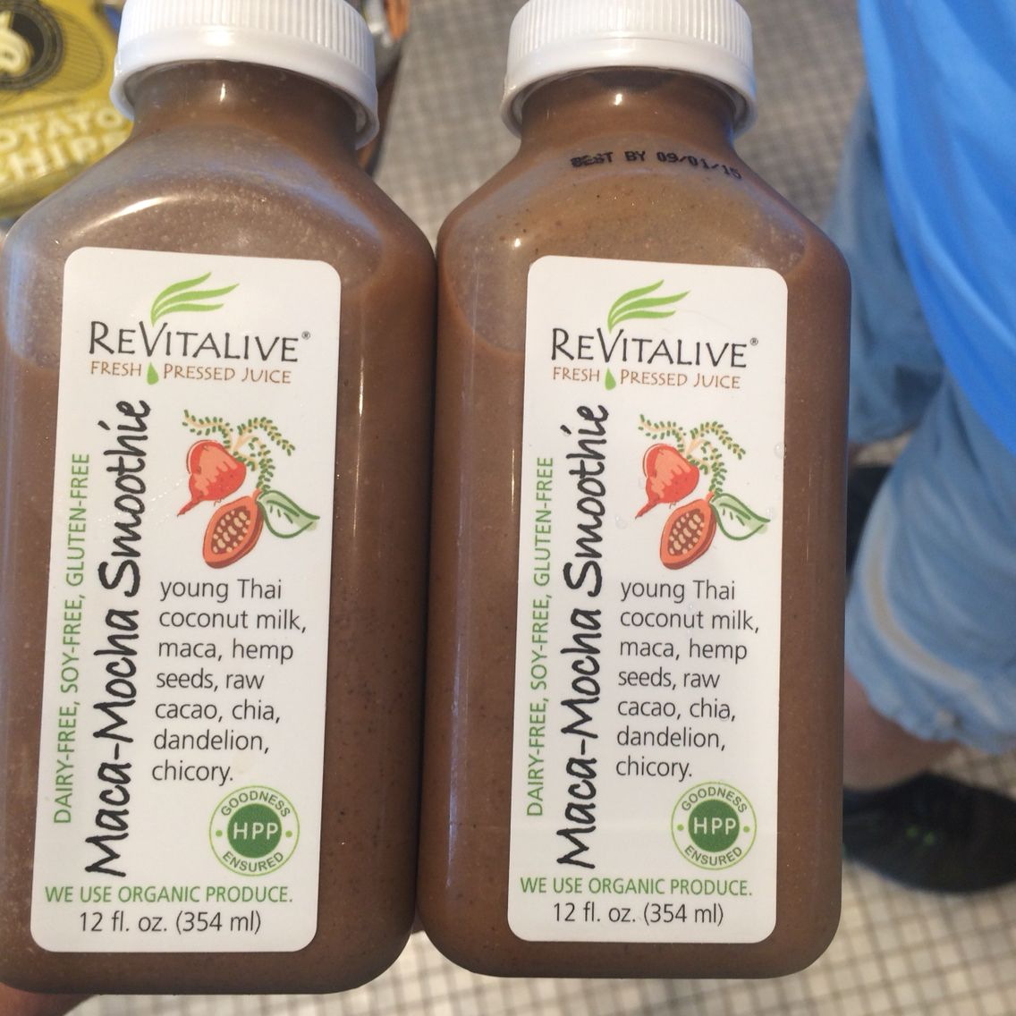 Grateful to revitalive at boston airport dairy free