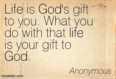 god quotes about life - Google Search