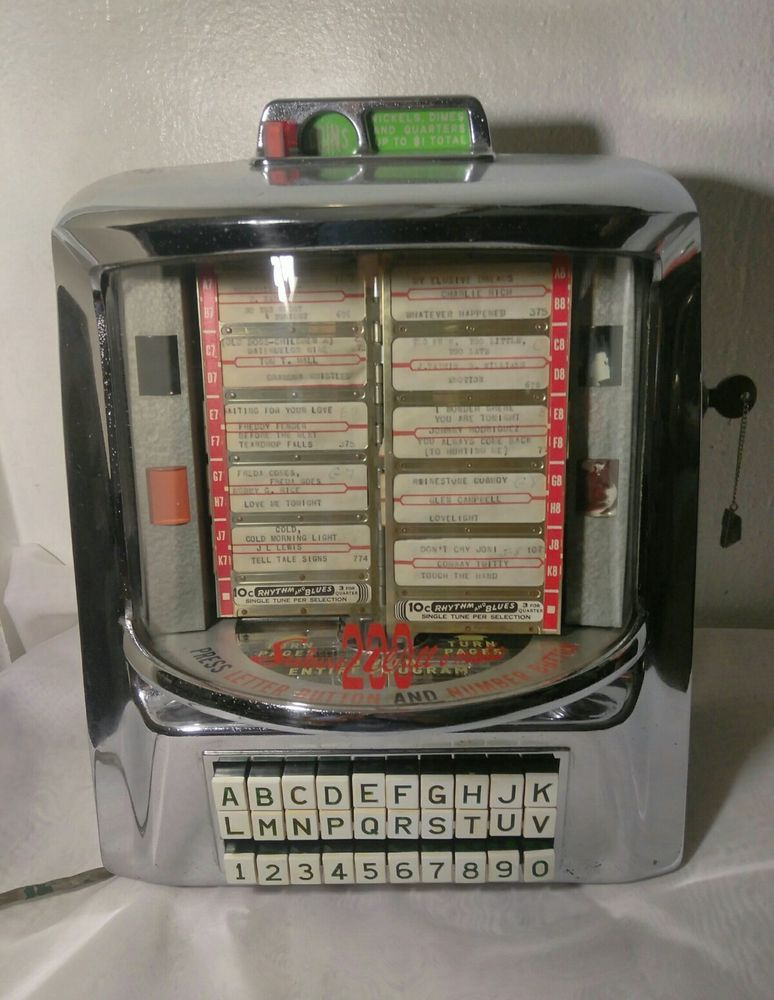 Seeburg Trashcan Jukebox Record Trays
