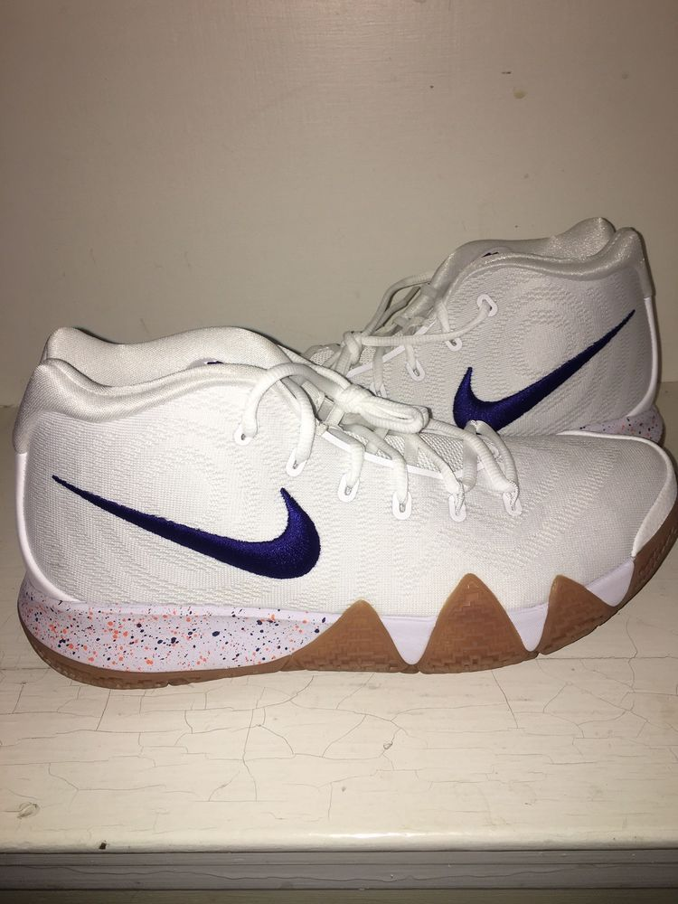 a84c1050a88d2a Nike Kyrie 4 Uncle Drew White Gum 943806 100 Brand New Size 10.5  fashion   clothing  shoes  accessories  mensshoes  athleticshoes (ebay link)