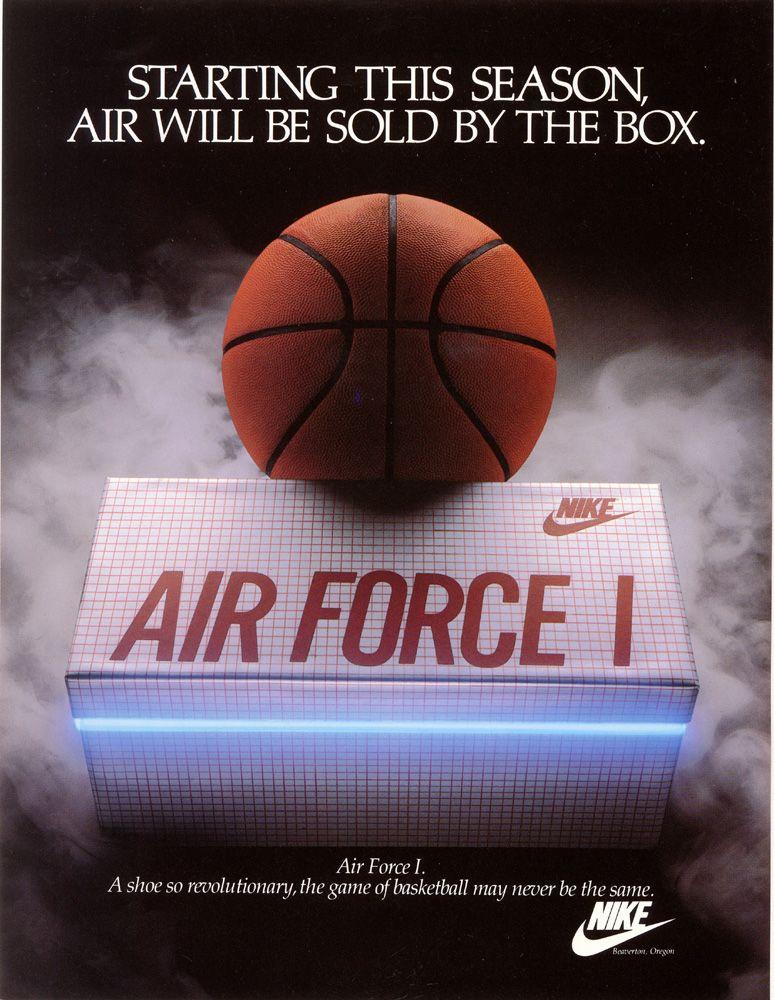 nike air force advertisement